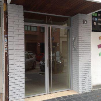 Nuevo acceso al edificio